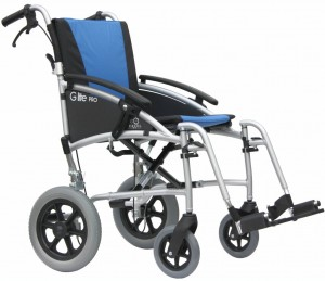 Excel G-lite Pro Lightweight Transit Wheelchair
